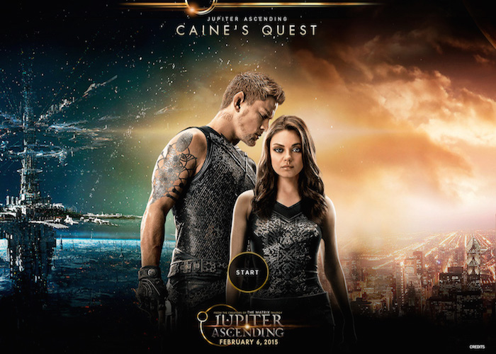 Caine's Quest - Jupiter Ascending | CSS Website