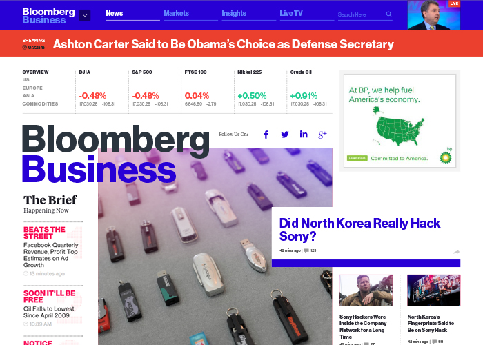 Bloomberg Business | CSS Website