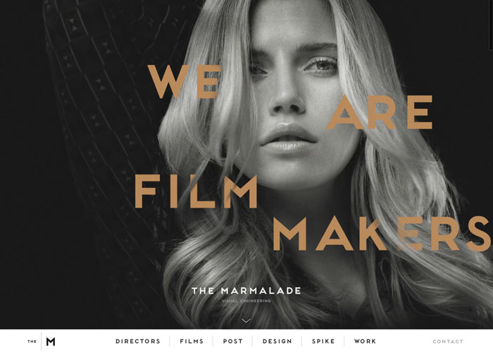Awwwards website of the day: The   Marmalade