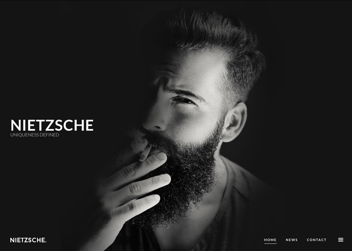 Nietzsche - Creative HTML Template | CSS Website