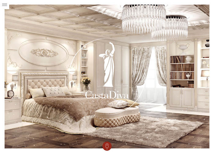 Casta Diva Interiors | CSS Website