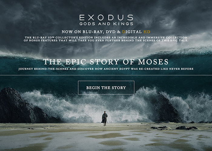Exodus Gods and Kings | CSS Website