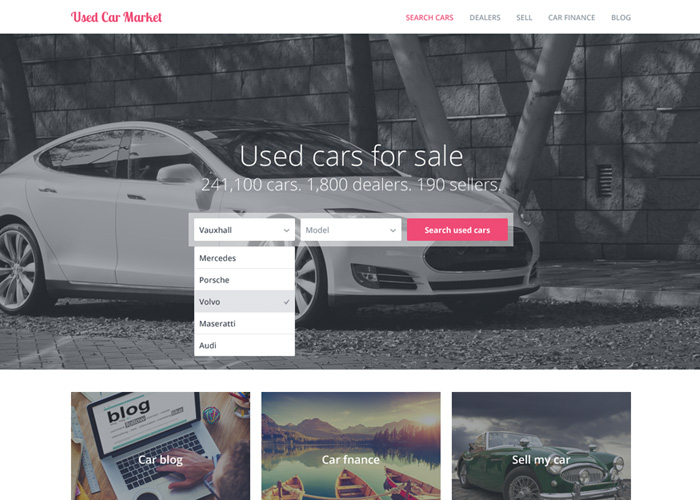 Used Car Market | CSS Website