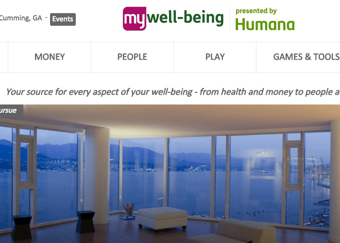 My Well-Being presented by Humana | CSS Website