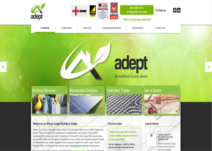 Adept Concepts | CSS Website