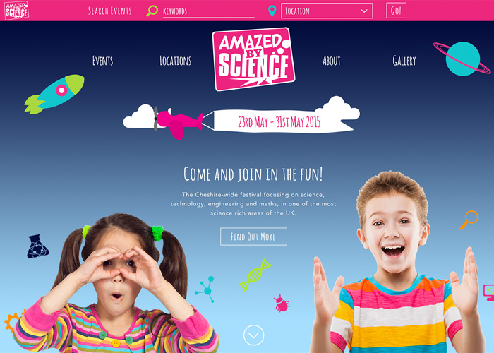 Amazed by Science | CSS Website