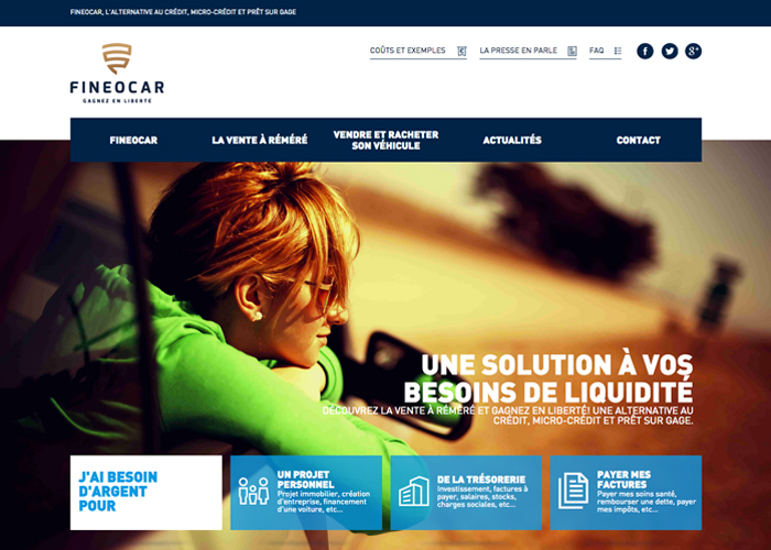 FINEOCAR | CSS Website