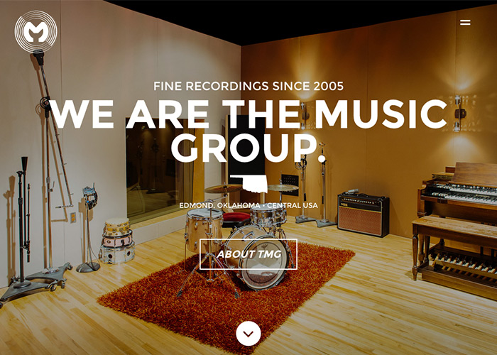 The Music Group Studios | CSS Website