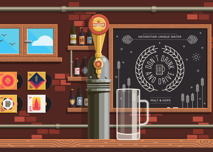 Awwwards website of the day: Brewery
