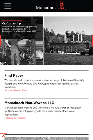 monadnock paper mills 2013 - hypertherm, inc and monadnock paper mills established in 2013, the  cornerstone award hall of fame recognizes prior winners who re-apply and  finish.
