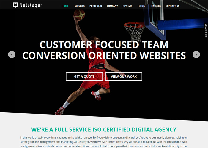 Netstager Technologies | CSS Website