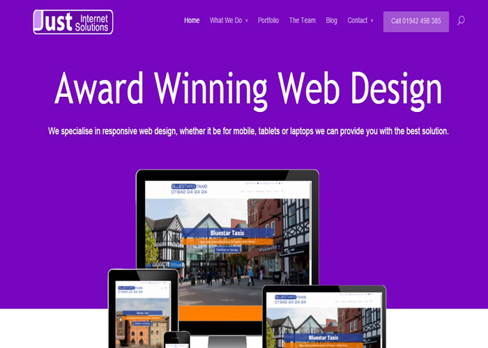 Just Internet Solutions | CSS Website