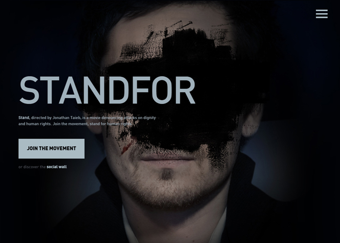 STANDFOR | CSS Website