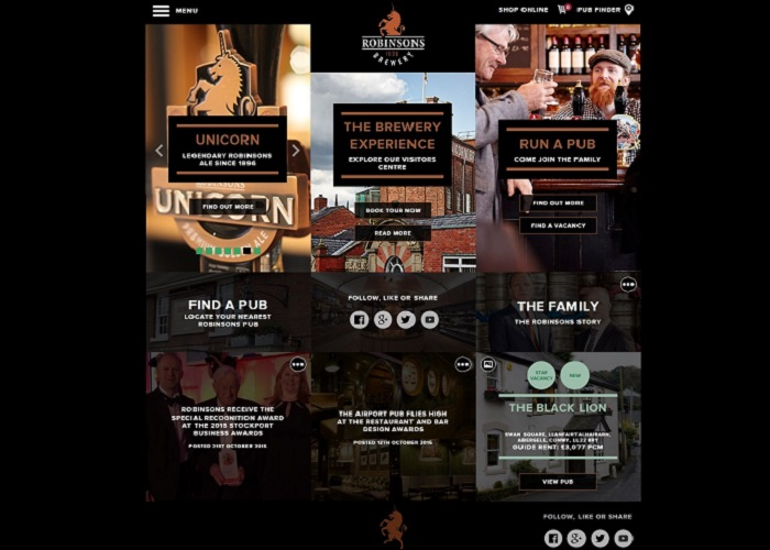 Robinsons Brewery | CSS Website