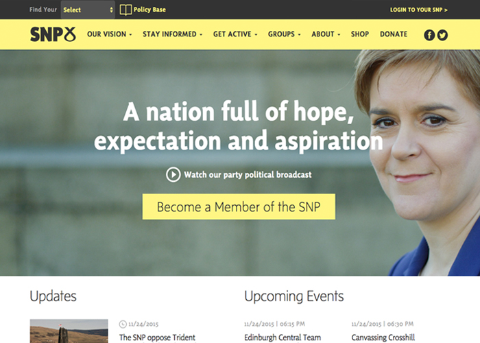 The Scottish National Party | CSS Website