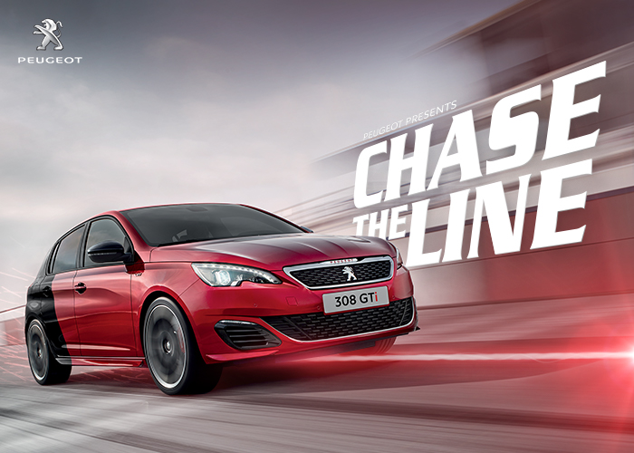Peugeot GTi - Chase the Line