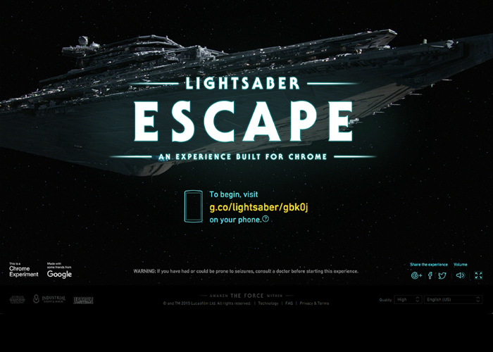 Star Wars: Lightsaber Escape