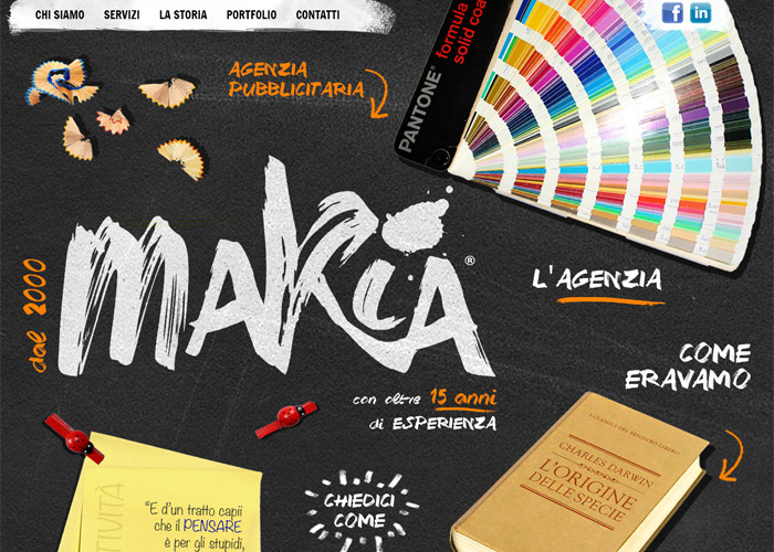 makia adv agency | CSS Website