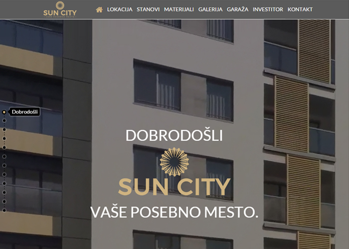 Sun City | CSS Website