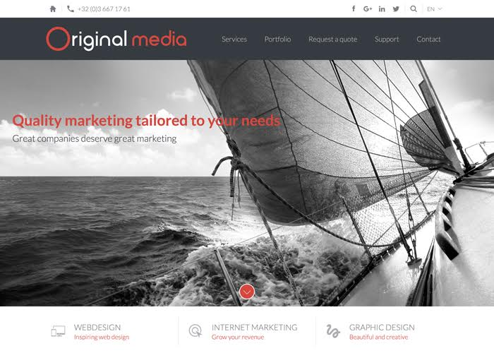 Original Media | CSS Website