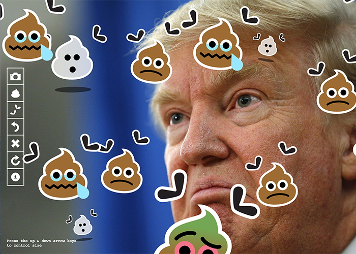 Poop on Trump | CSS Website