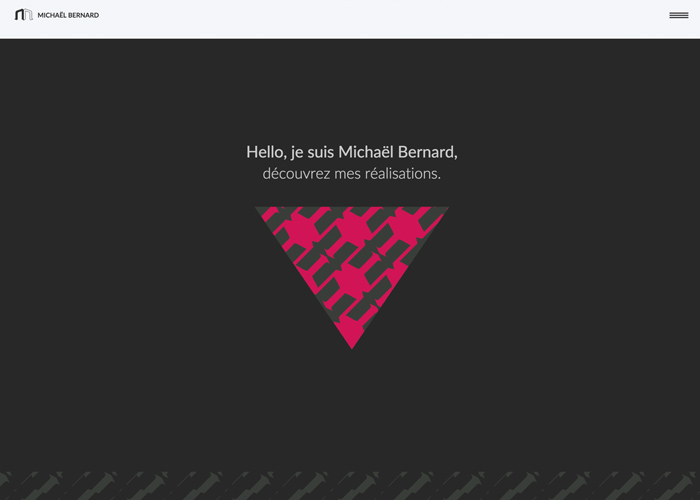 Michael Bernard Portfolio | CSS Website