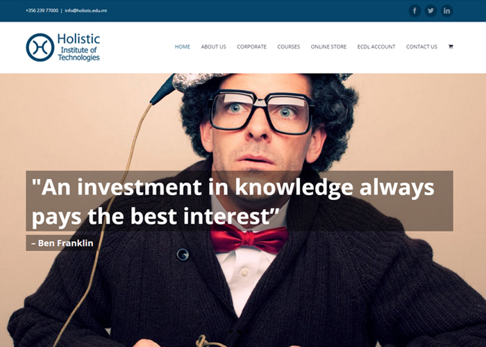 Holistic Institute of Technologies | CSS Website
