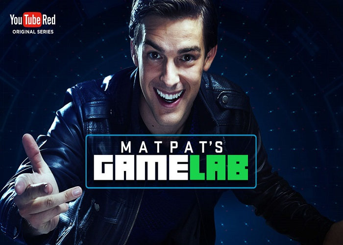 Awwwards website of the day: Matpat's Game Lab
