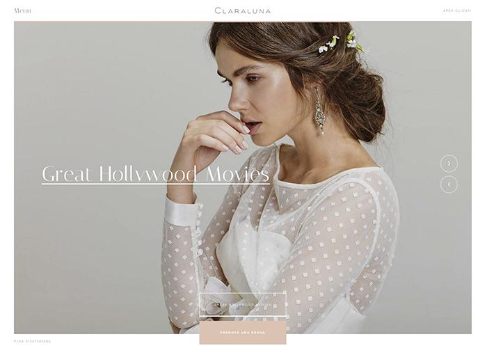 Awwwards website of the day: Claraluna