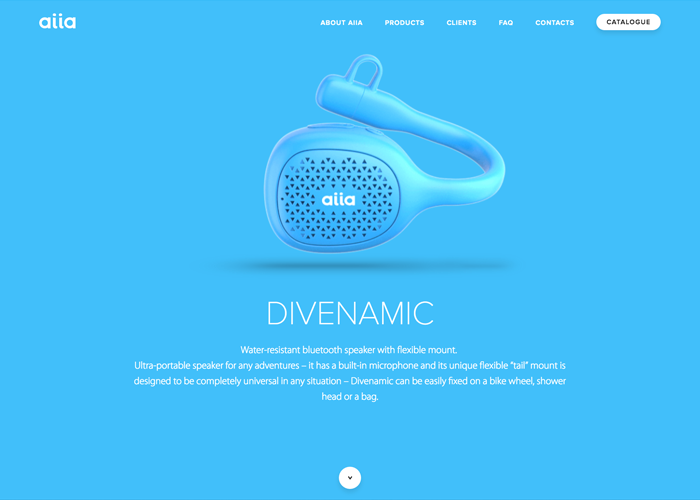 Awwwards website of the day: Divenamic