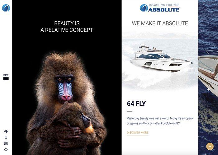 Absolute Yachts | CSS Website