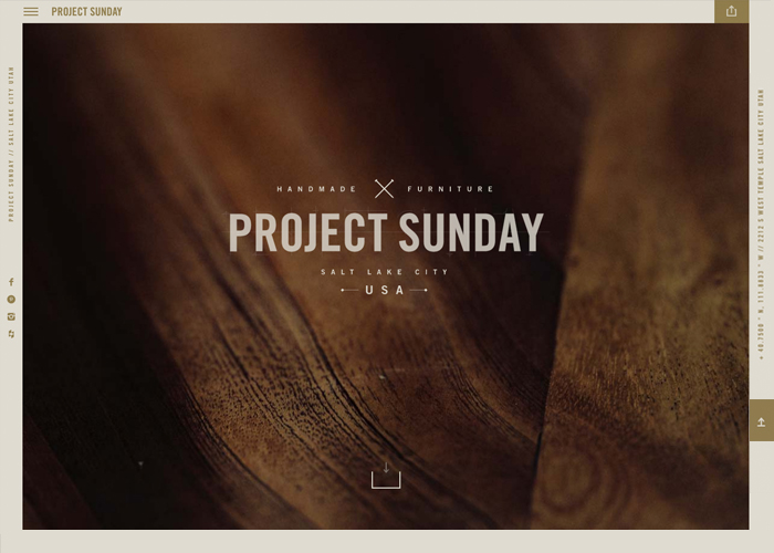 Awwwards website of the day: Project Sunday