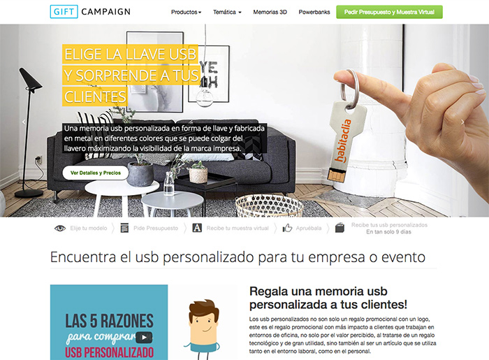 USB Personalizado by Gift Campaign | CSS Website