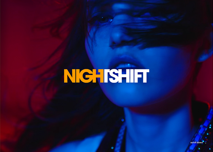 Awwwards website of the day: Nightshift