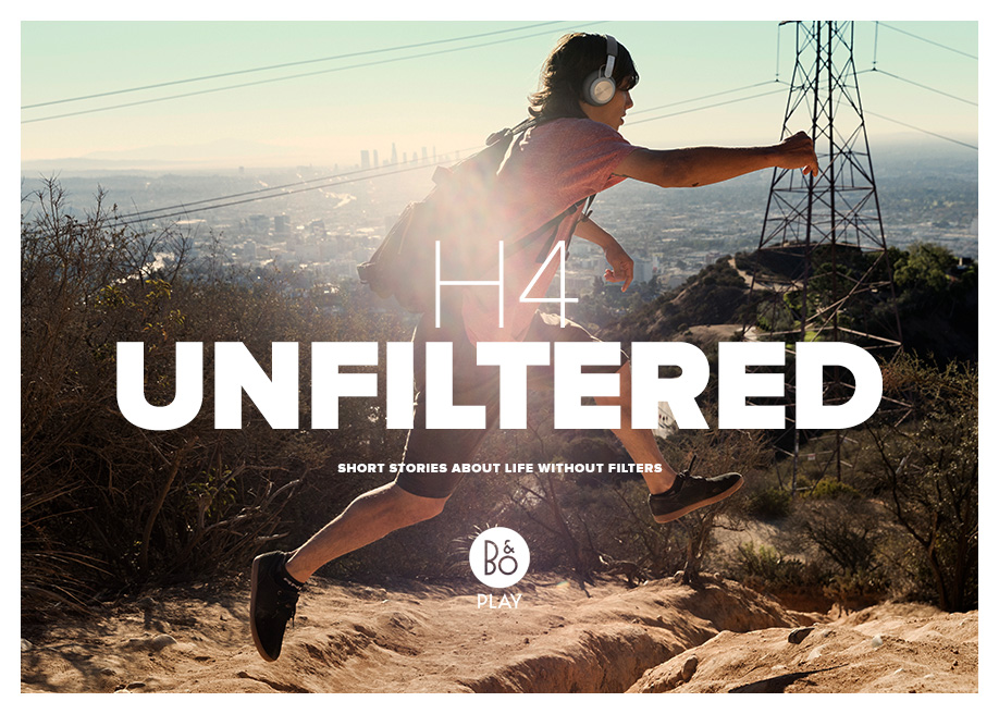 Awwwards website of the day: Beoplay H4 - UNFILTERED
