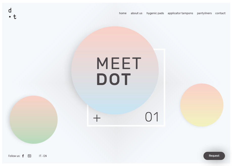 Awwwards website of the day: • Dot
