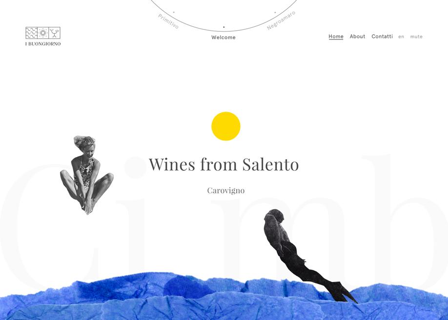 Awwwards website of the day: I Buongiorno