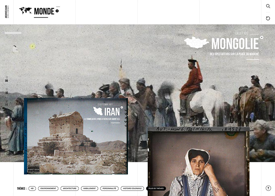 Awwwards website of the day: Un Monde