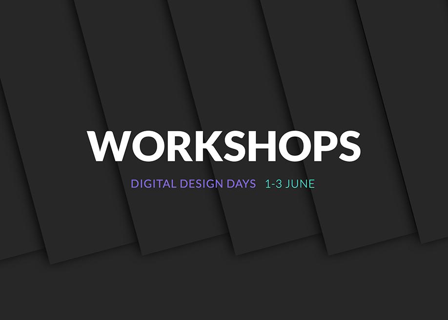 Awwwards website of the day: Workshops - DDD2017