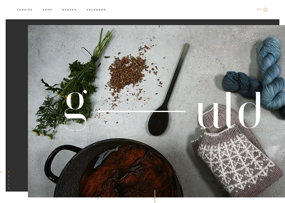 Awwwards website of the day: G-uld