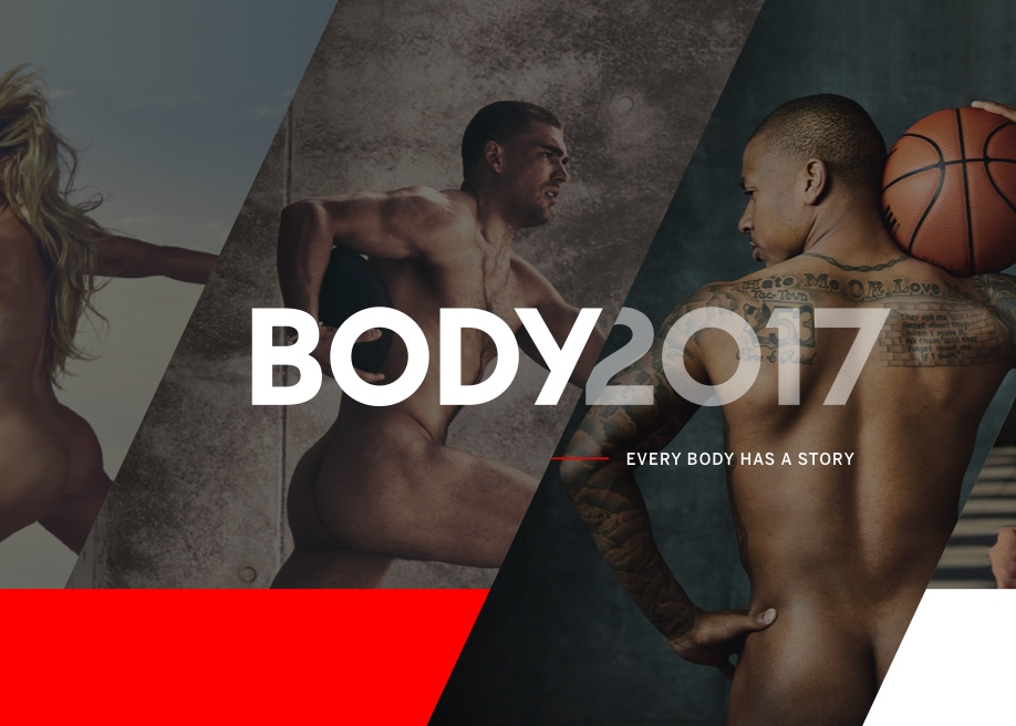 Awwwards website of the day: ESPN The Body Body Issue 2017