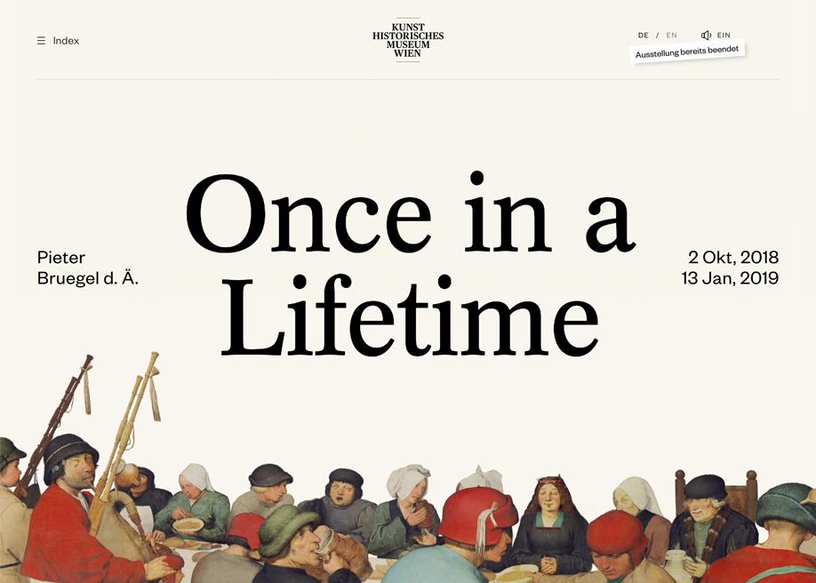 Bruegel – Once in a Lifetime