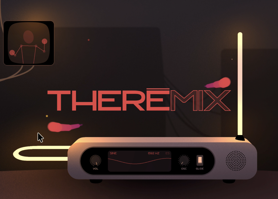 THEREMIX - Virtual Theremin