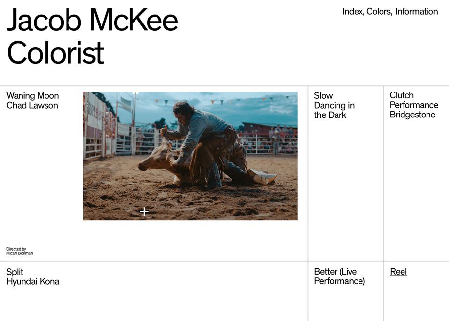 Jacob Mckee — Colorist