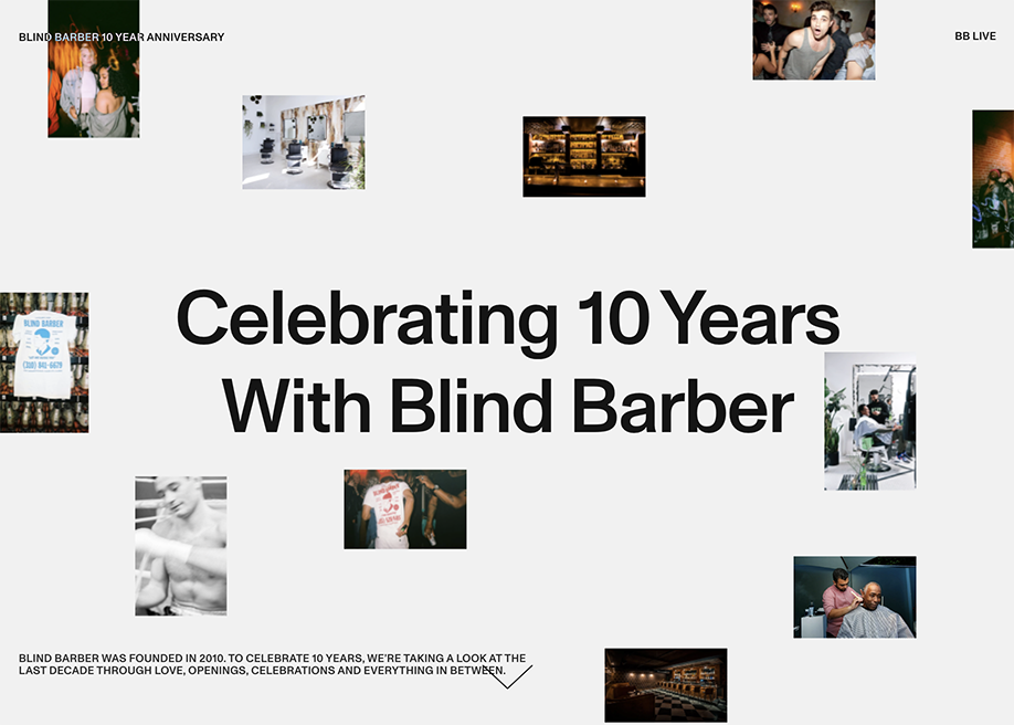 Blind Barber 10—Year