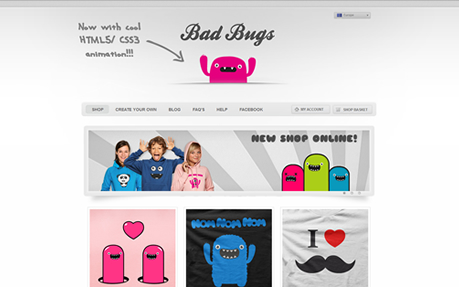 Bad Bug's T-Shirt Shop