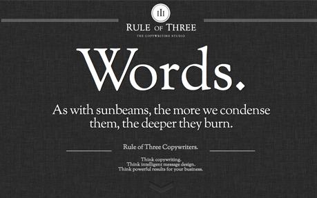 Rule of Three – The Copywriting Studio.