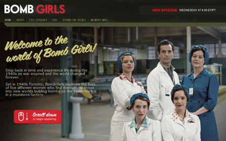 Bomb Girls Interactive
