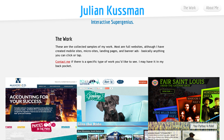 Julian Kussman, Interactive Art Director