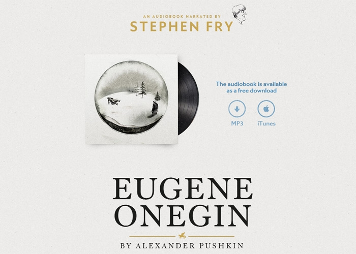 Fry reads Onegin